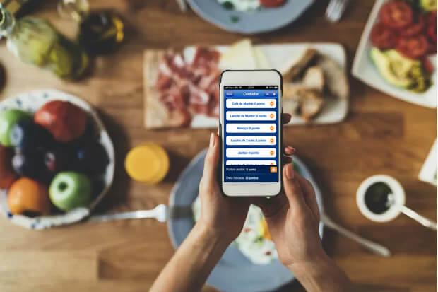 calcular pontos dieta dos pontos aplicativo