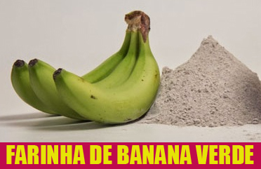 Receta de farinha de banana verde para diabetes