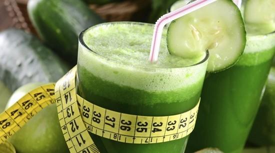 suco detox para emagrecer verde