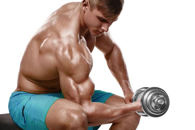 Treinar musculos do braço