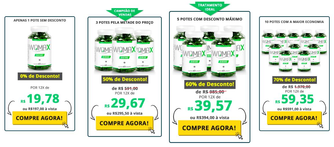 Preços Womax
