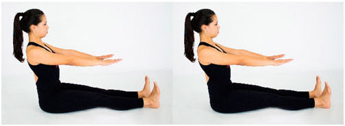 pilates exercício spine stretch