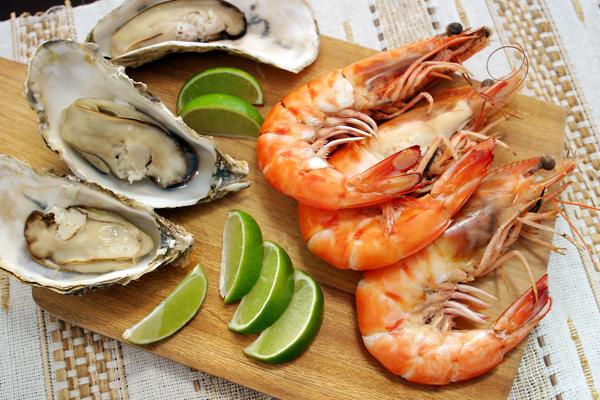 frutos do mar alimentos que melhoram a concentração