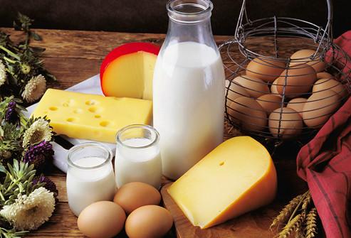 ovos leites e derivados comidas que melhoram a concentração