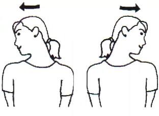 Como alongar a cervical sentado