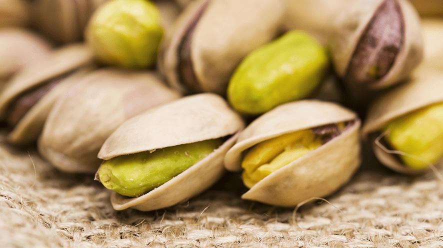 Benefícios do pistache para a saúde