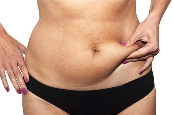 engordar sem ganhar barriga