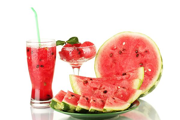 como consumir melancia
