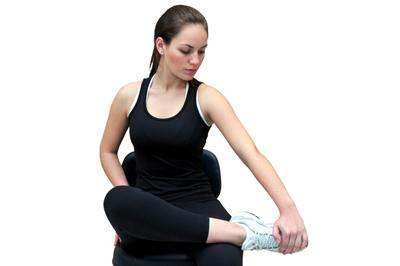 alongamento para tornozelo