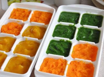 como congelar verduras