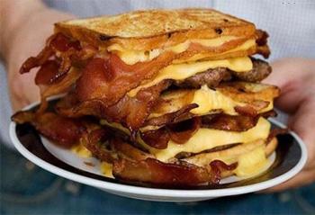 o que nao comer no café da manhã