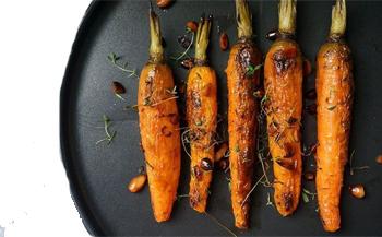 receita de tomilho com cenoura