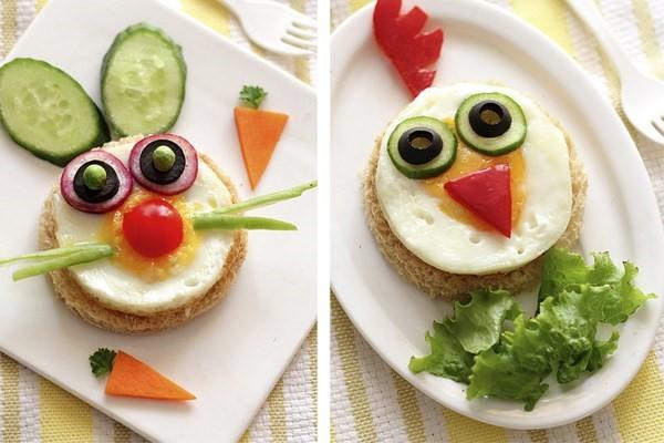 salada para criancas