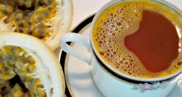 chá de maracujá calmante - como fazer?