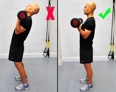 treino para bíceps ero