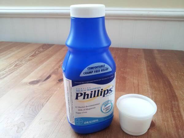 leite de magnesia como tomar