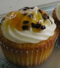muffin de maracujá