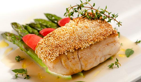 peixe com quinoa receita