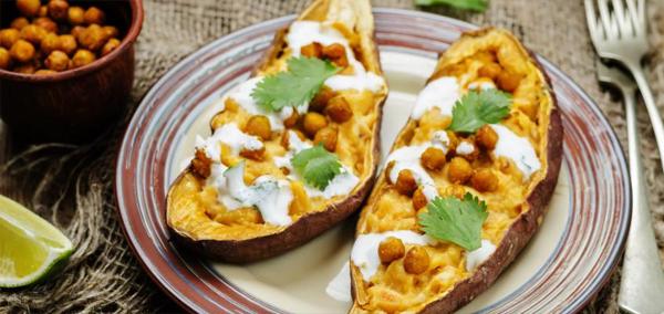 alimentação fitness batata doce