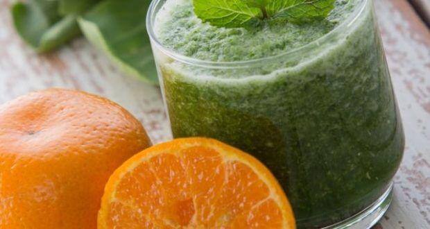 receitas para aumentar imunidade suco verde