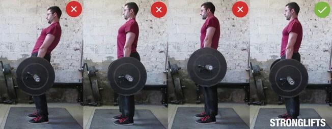 treino de costas erros