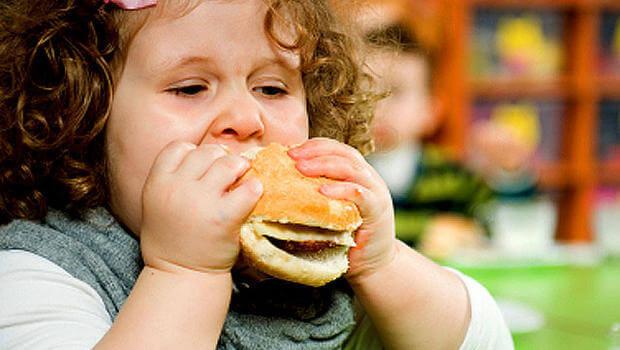 obesidade infantil sintomas