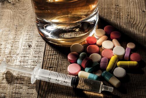 remédios e bebida