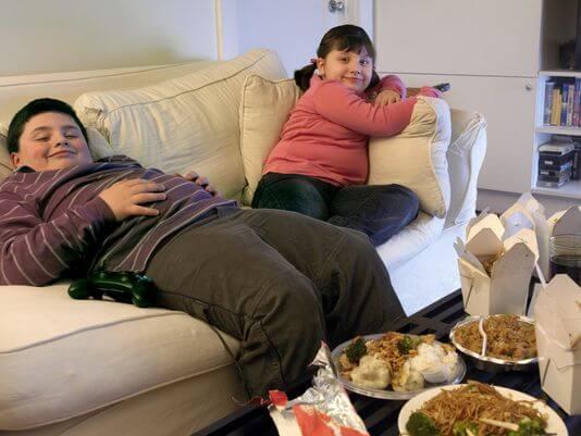 obesidade infantil no brasil