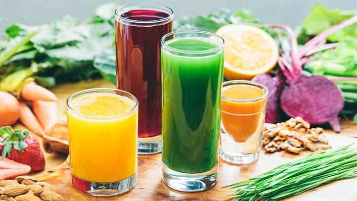 Suco detox ingredientes