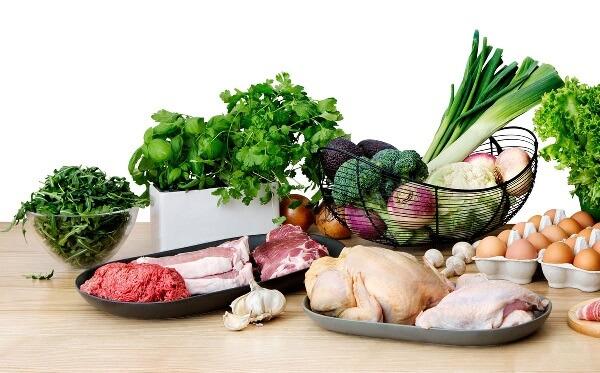 imagem de alimentos permitidos na dieta cetogênica