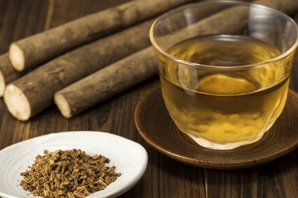 chá de bardana para perder barriga