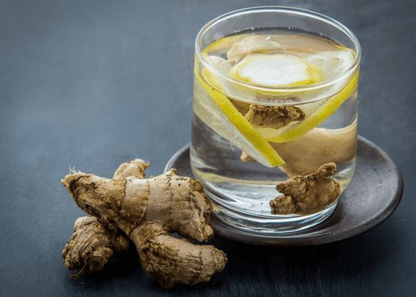 água de gengibre com limão para perder barriga