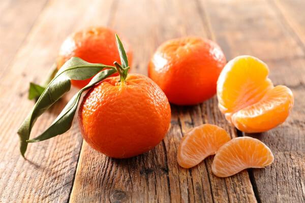 propriedades da tangerina