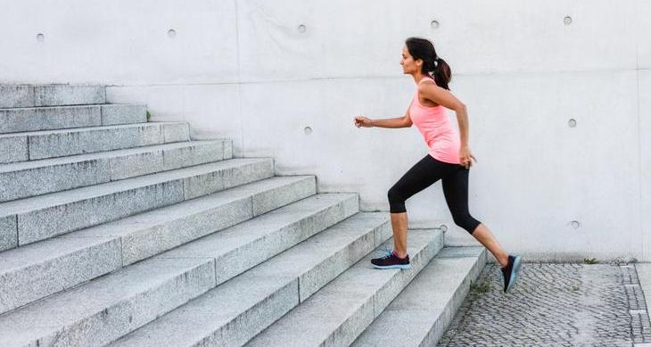 escada da escada de exercícios
