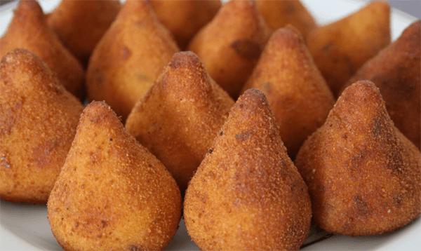 coxinha de batata doce