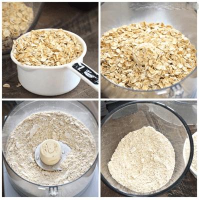 farinha de aveia como fazer