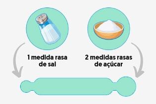 soro caseiro ingredientes