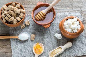alimentos para substituir açúcar
