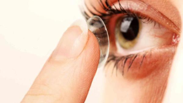 lentes de contato tipos