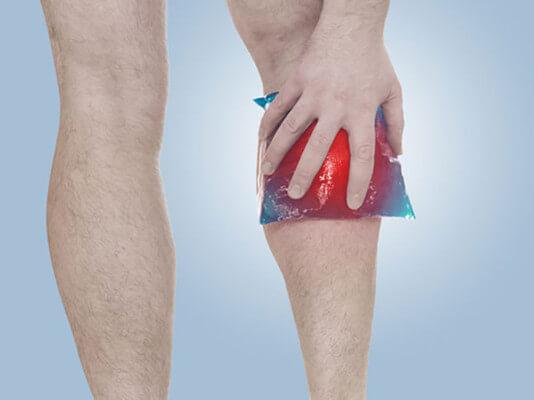 dor na panturrilha tratamento