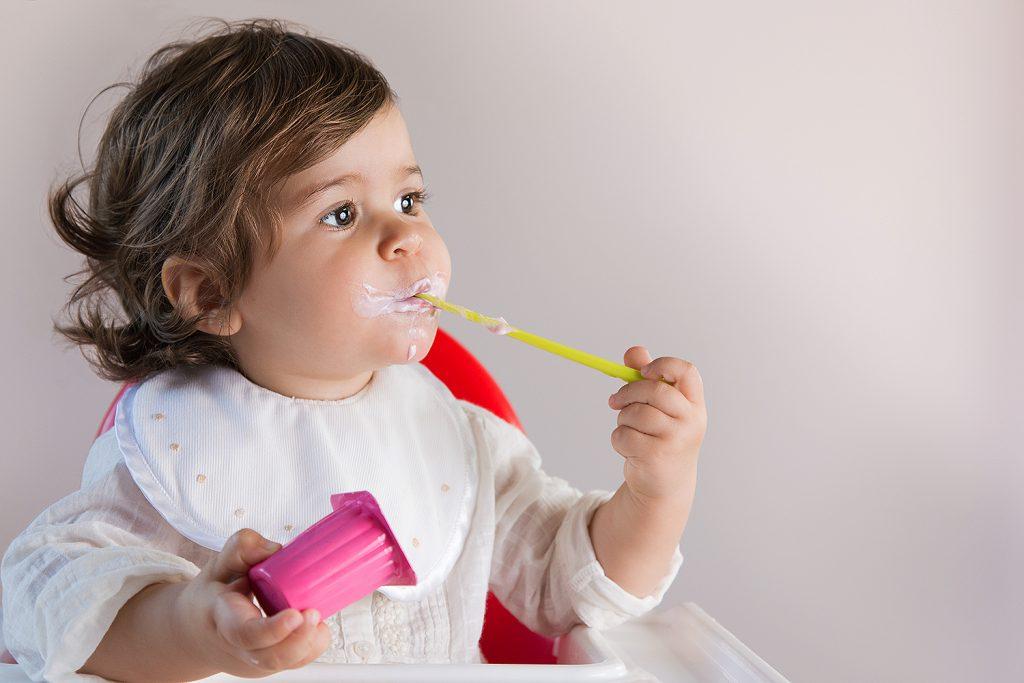 iogurte para crianças
