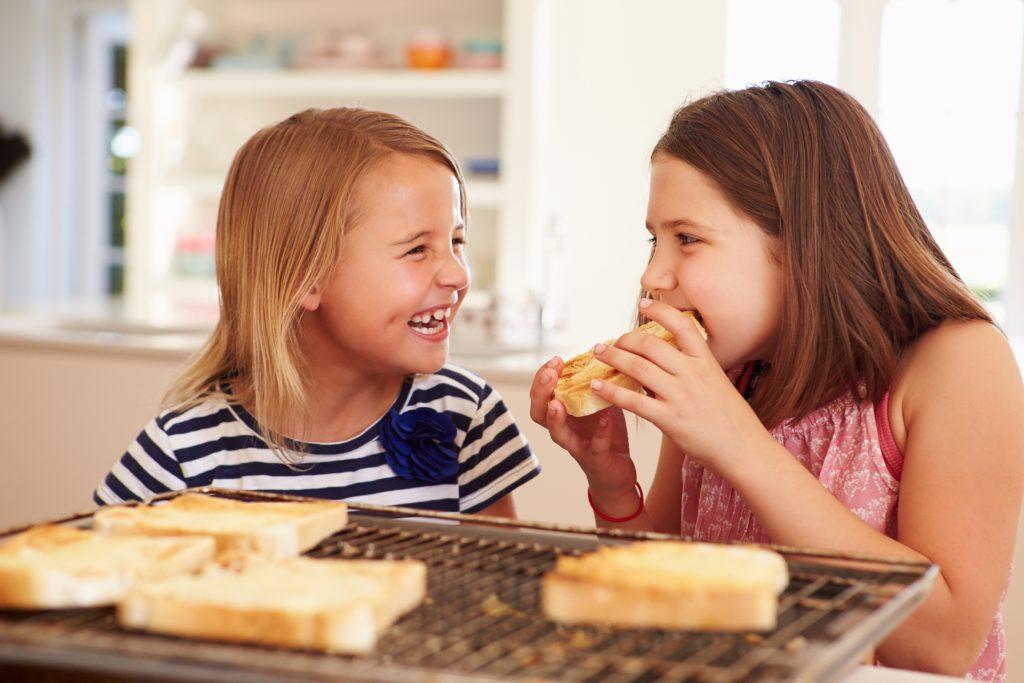 pão para crinaças