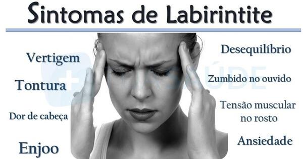 labirintite sintomas