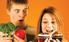 alimentação infância e adolescência