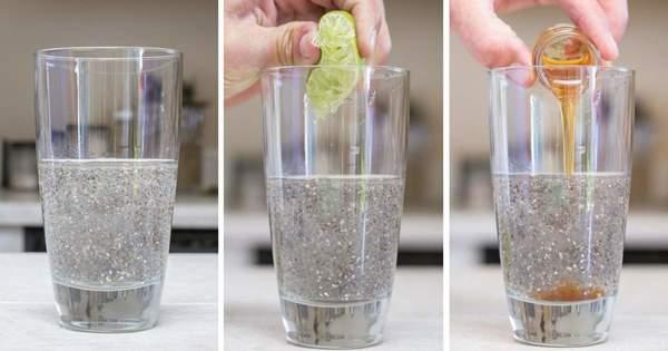 Água de chia