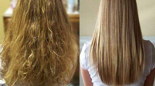 Limão no cabelo