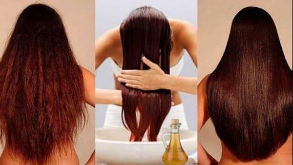 Vinagre de maçã no cabelo